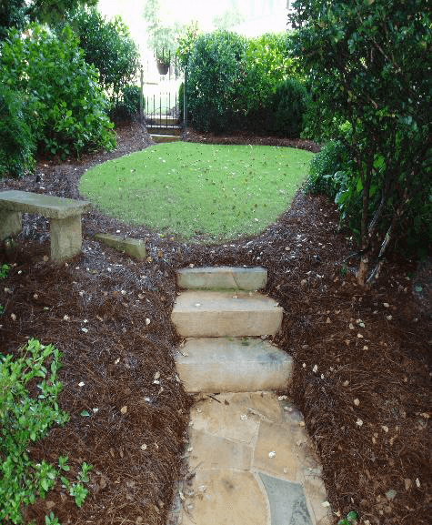 Simply Organic Lawn Treated With Atlanta Care Products